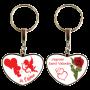 Porte clé spécial Saint Valentin couleur rouge