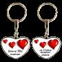 Porte clé coeur Fête des Mères